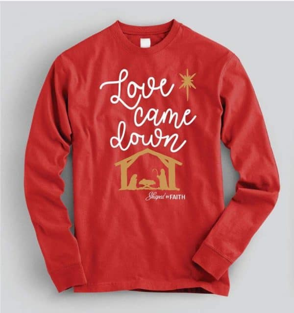 love came down holiday shirt